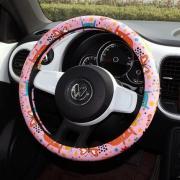 Женская накладка на руль розовая Onever HB3255R
