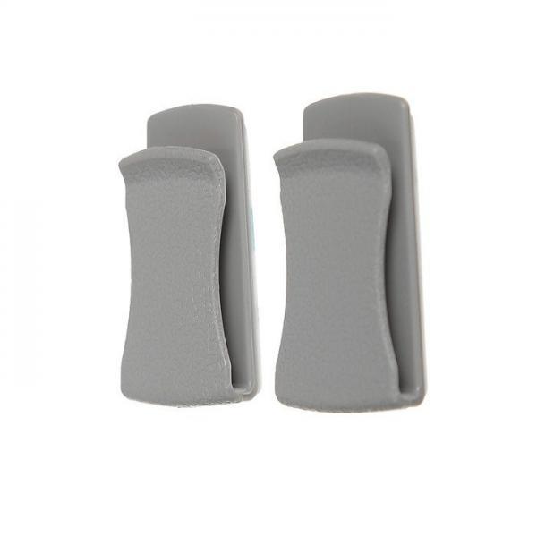 Вешалка-крючок на клейкой основе Naiteke Suo HK-101 серый (набор 2 шт.)