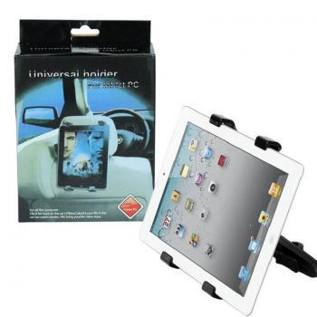Универсальный держатель для для планшетного ПК в автомобиль - черный SHUNWEI SD-2456