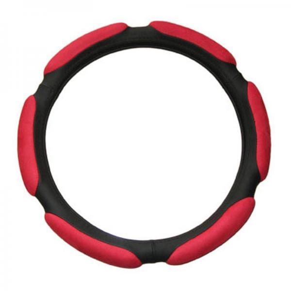 Противоскользящая оплетка руля красная Onever 176R