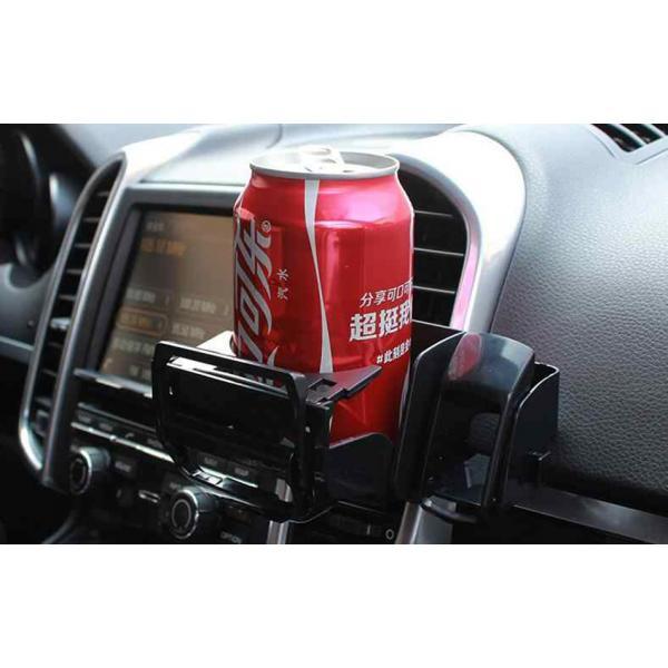 Держатель телефона и баночки. 2 в 1 в автомобиль SHUNWEI SD-1012