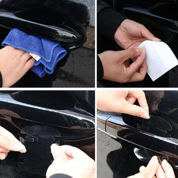 Защитная пленка от царапин под ручку авто 3M W39 (прозрачная)