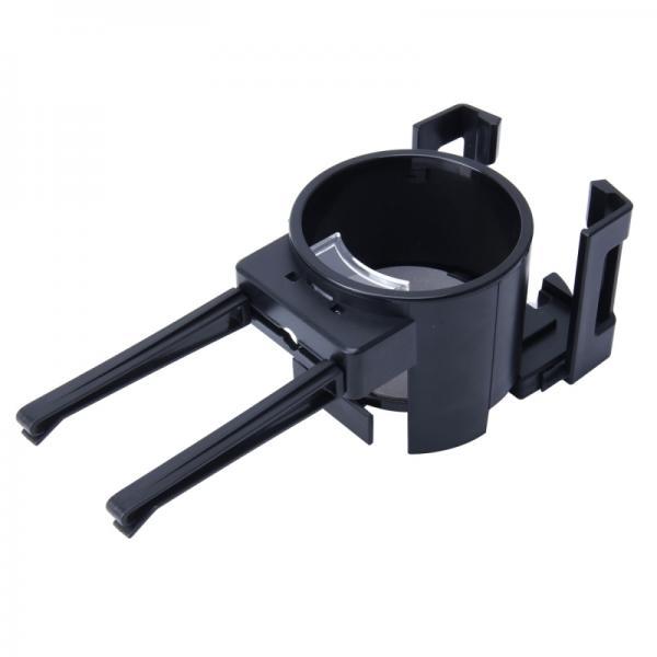 Держатель телефона и баночки. 2 в 1 SHUNWEI SD-1026 (черный)