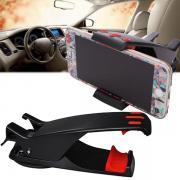 Универсальный автомобильный держатель для телефона и навигатора Shunwei SP-8711 (черный)