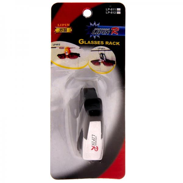 Кронштейн-держатель для очков в автомобиле LipinR LP-811 (белый)