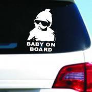 "Наклейка в авто ""Baby on board 2"" 3M FGVBN"