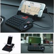 Держатель телефона с USB подзарядкой REMAX LX-H007