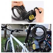 Тросовый замок для велосипеда с сигнализацией Ulac AL-3P