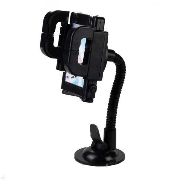 Автомобильный держатель для телефона Fly 14009 (черный)