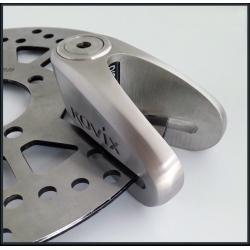 Механическое противоугонное устройство для мотоцикла - мотоциклетный дисковый замок KOVIX KVS/C2 (серебристый)
