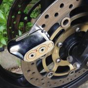 Механическое противоугонное устройство для мотоцикла - мотоциклетный дисковый замок KOVIX ZA871