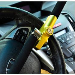 Механическое противоугонное устройство для автомобиля на руль Okron B8C-YEL (желтый)