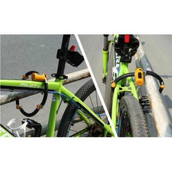 Механическое противоугонное устройство для велосипеда - цепь на колесо FUYOUSHENZHU R1