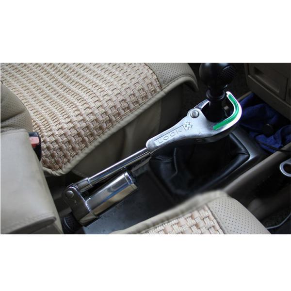 Механическое противоугонное устройство для автомобиля на ручник и коробку передач OKLEAD OKL6051