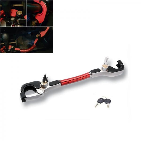 Механическое противоугонное устройство для автомобиля на руль и коробку передач Oklead OKL6630