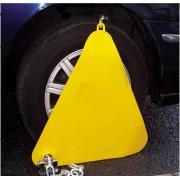 Механическое противоугонное устройство для автомобиля на автомобильное колесо Kinouwell KS-WL-03 (желтый)