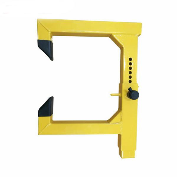 Механическое противоугонное устройство для автомобиля на автомобильное колесо Kinouwell KS-WL-08 (желтый)