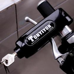 Механическое противоугонное устройство на руль управления скутера Tonyiyon lock Universal