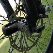 Механическое противоугонное устройство для мотоцикла - мотоциклетный дисковый замок Sailnovo Black 1