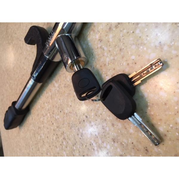 Устройство противоугонное для автомобиля на руль  OKL6822