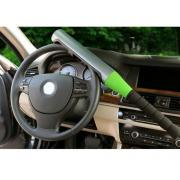 Механический блокиратор руля для автомобиля  на руль  Alca V3000 ( БИТА) Зеленого  цвета