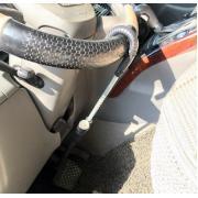 Механический блокиратор для Авто на педаль и руль RS ML684 (серый зонт)