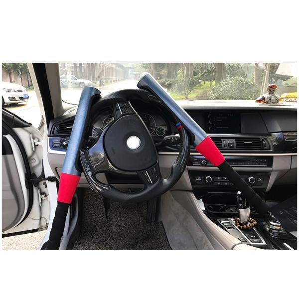 Механический блокиратор руля для автомобиля  на руль  Alca V3000 ( БИТА)  Красного цвета