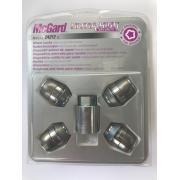 Наружные секретки на колеса под проставки (гайка - конус) McGard М12х1.25х35х17 (1 ключ)