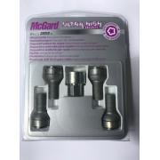 Наружные секретки на колеса под проставки (болт - сфера) McGard М12х1.5x40 (1 ключ)