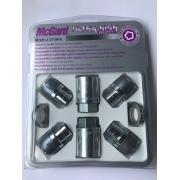 Наружные секретки на колеса под проставки (гайка для Honda) McGard М14х1.5х35 (1 ключ)
