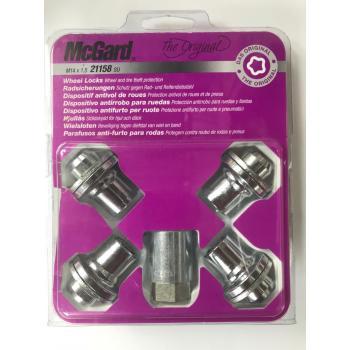 Наружные секретки на колеса под проставки (гайка для Infiniti) McGard М12х1.25х35 (1 ключ)